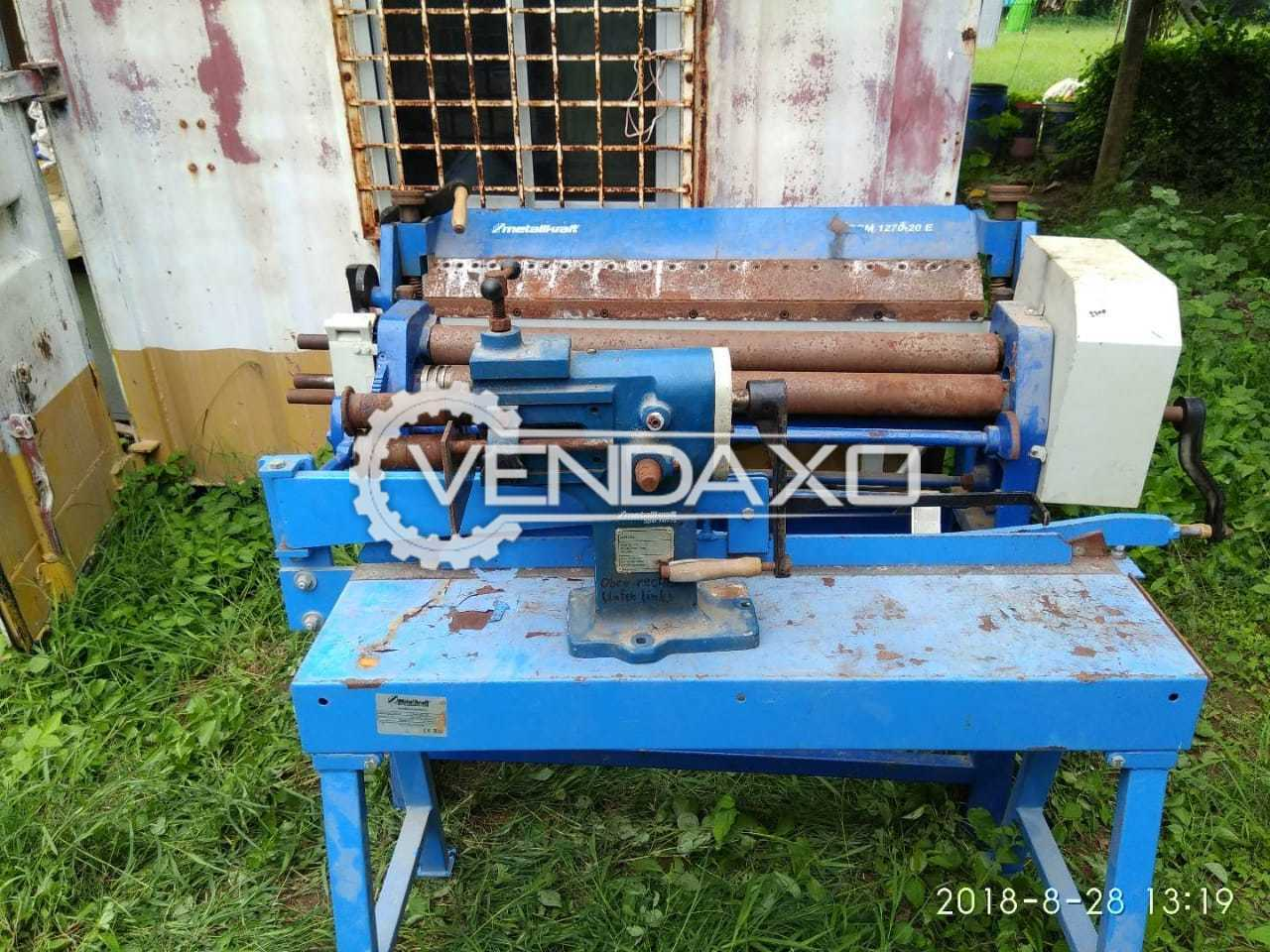 MetalKarft Make Sheet Shearing & Bending Machine - Width - 1.8 Meter