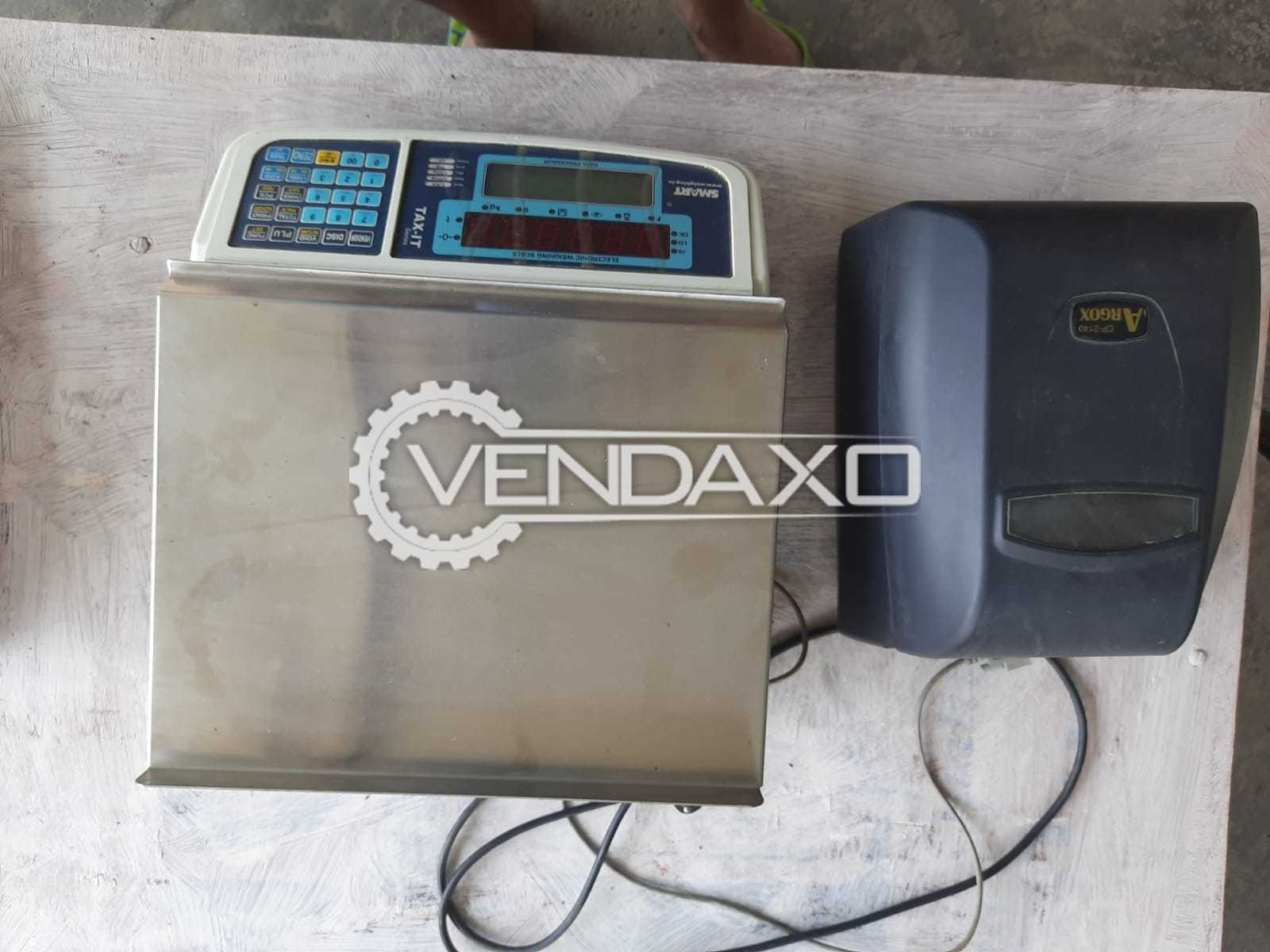 Available For Sale Tax-it series Weighing Scale with Barcode printing Machine