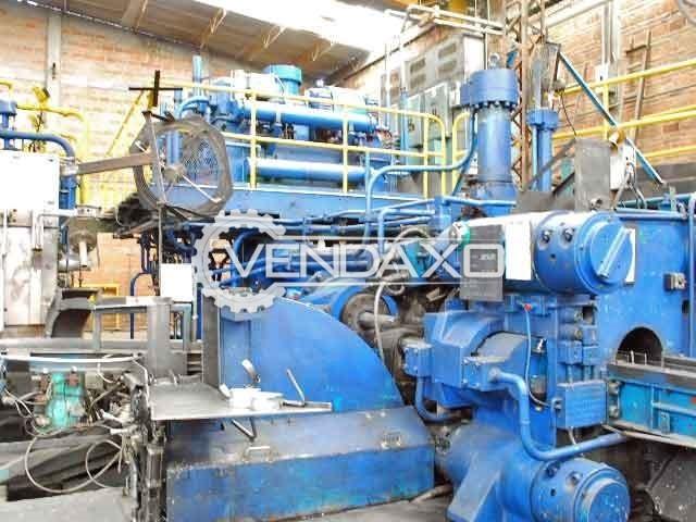 Lombardo Make Extrusion Hydraulic Press Machine - Capacity : 1800 Ton