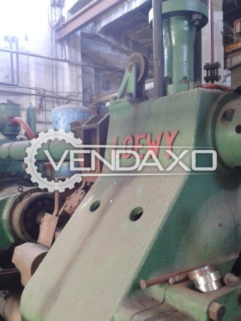 Loewy Make Extrusion Hydraulic Press Machine - Capacity : 1500 Ton