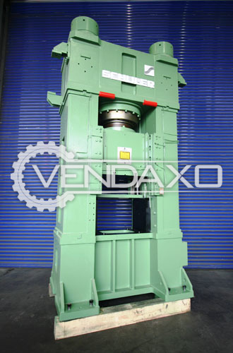 Schuler Make Hydraulic Forging Press Machine - Capacity : 800 Ton