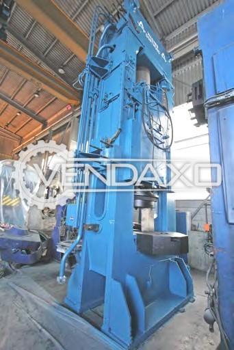 Wagner RSTPO1000 Hydraulic Forging Press Machine - Capacity : 1000 Ton