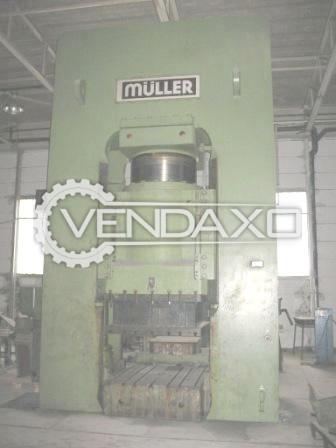Muller Make Hydraulic Forging Press Machine - Capacity : 2400 Ton