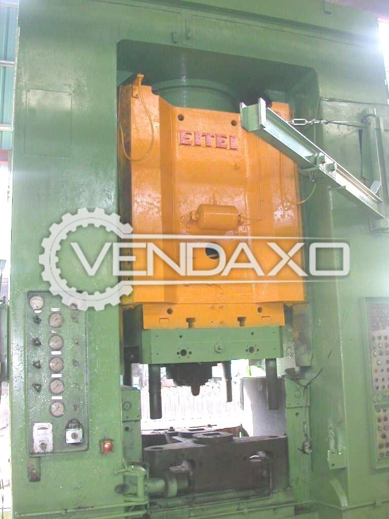 Eitel RK1250 Hydraulic Forging Press Machine - Capacity : 1250 Ton