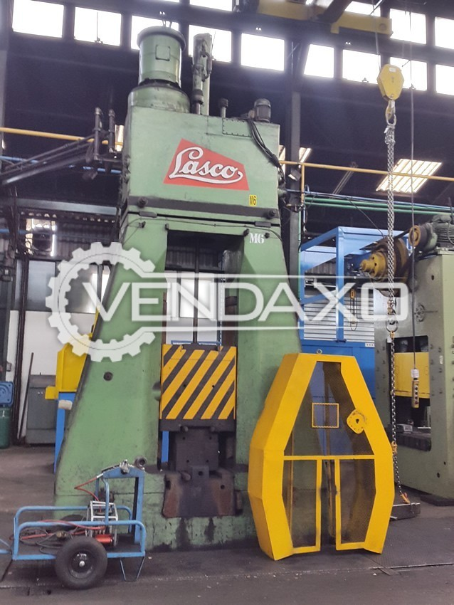 Lasco KH315 Hydraulic Forging Hammer - Capacity : 3.15 Tons