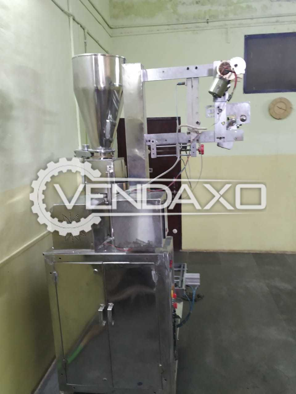 Fully Automatic Electro Pneumatic Volumetric FFS Packing Machine - 50 to 200 Gram