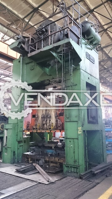 WMW Erfurt PKZZIV500.IFS Mechanical Sheet Stamping Press Machine - 500 Ton