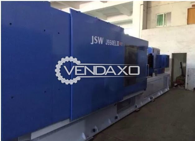 JSW J550EL-II Injection Moulding Machine - 550 Ton