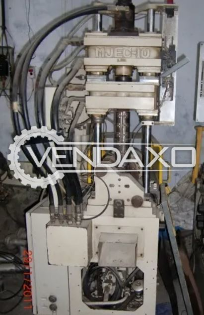 M Jec 10 L Type Vertical Injection Moulding Machine - 10 Ton