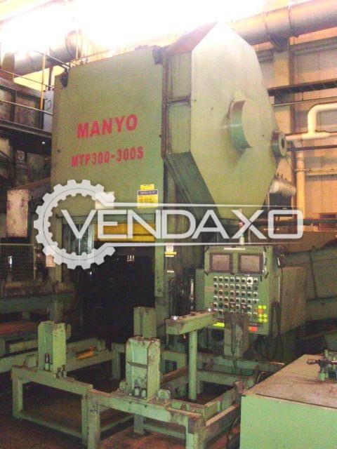 Manyo LP2500-380S Hot Forging Line - Capacity : 2500 Ton