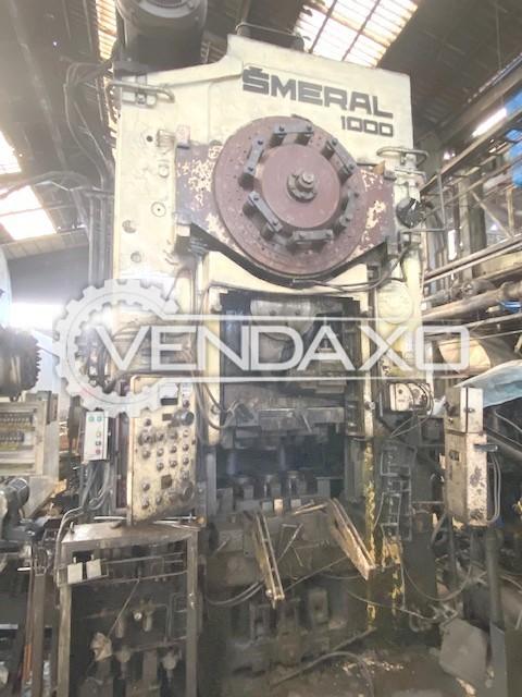 Smeral LZK1000 Hot Forging Line - Capacity : 1000 Ton