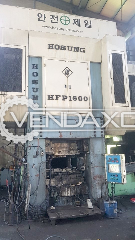 Hosung HFP1600 Hot Forging Line - Capacity : 1600 Ton