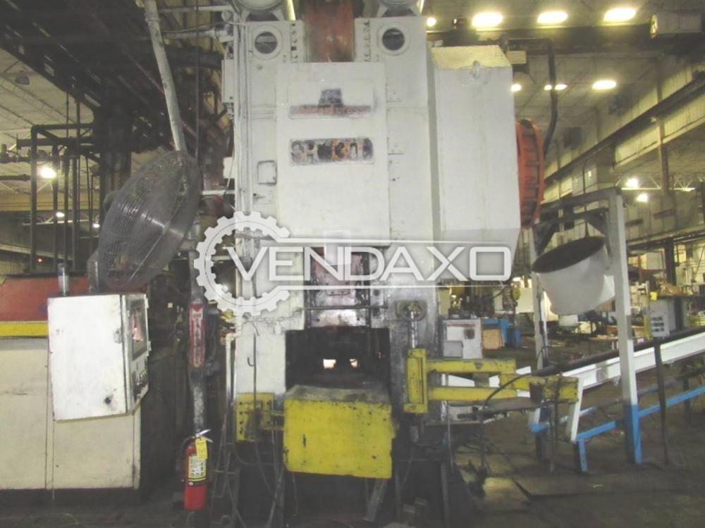 Manzoni Make Hot Forging Line - Capacity : 1300 Ton