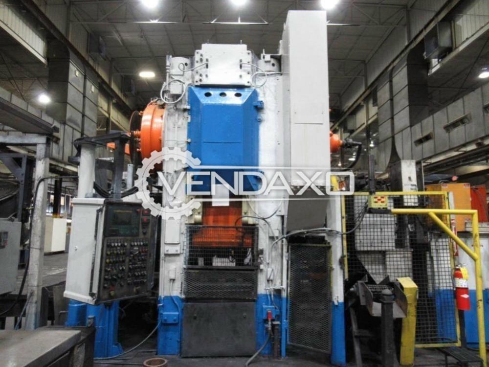 Eumuco Make Hot Forging Line - Capacity : 1000 Ton