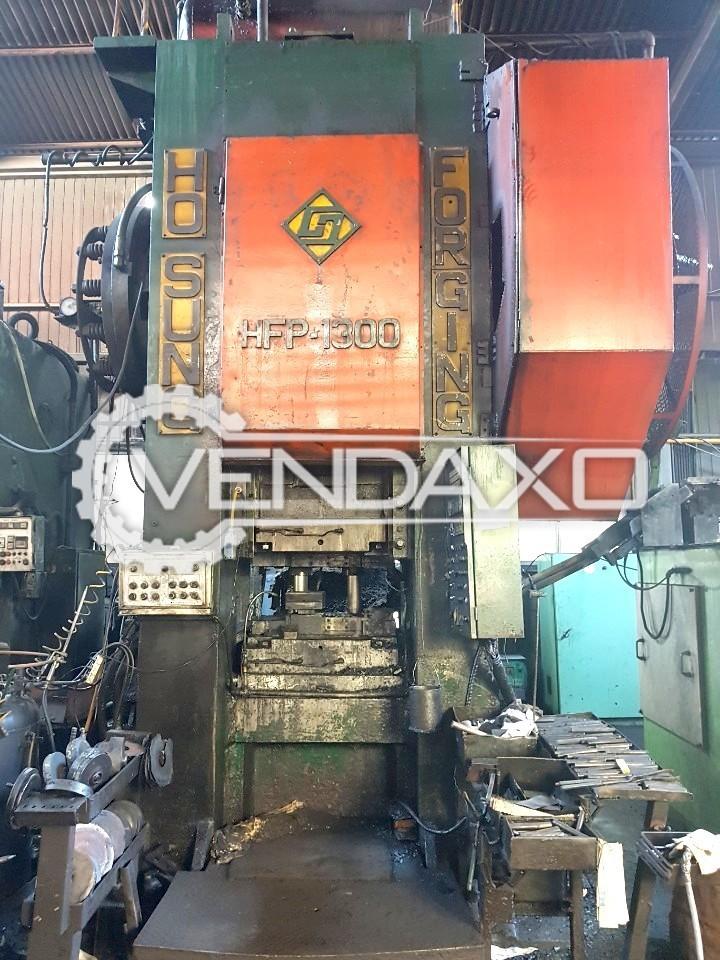 Hosung Korea HFP1300 Hot Forging Line - Capacity : 1300 Ton