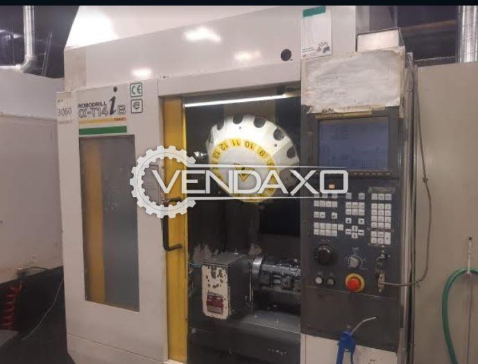 Fanuc Robodrill Alpha T14iB CNC Drill Tap Center - 500 x 400 x 330 mm