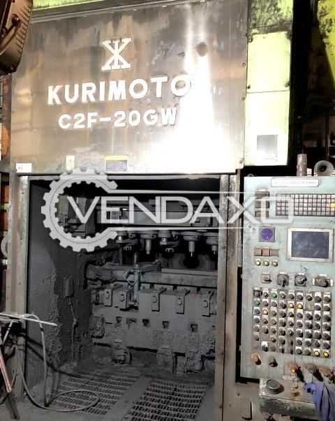 Kurimoto C2F-20GW Hot Forging Line - Capacity : 2000 Ton