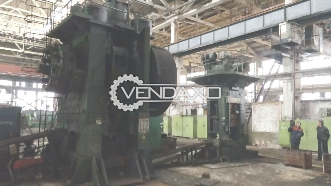 TMP Voronezh Russia KB8542 Hot Forging Line - Capacity : 1600 Ton