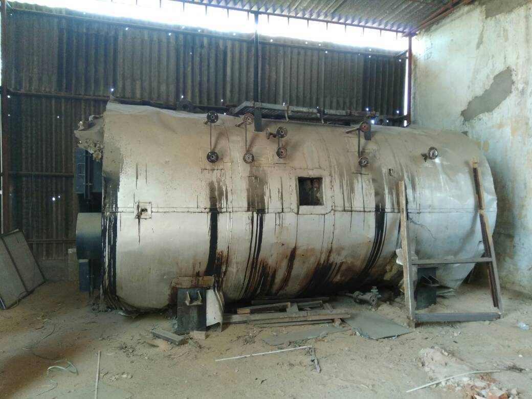 INDUSTRIAL BOILER THERMAX - 2 TON OIL / GAS FIRED STEAM BOILER