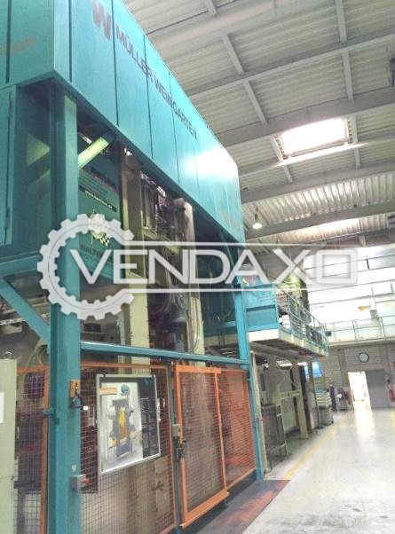 Weingarten Make Hot Forging Line - Capacity : 1250 Ton