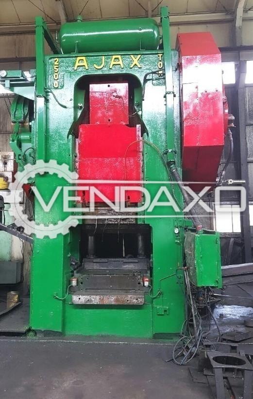 Ajax Make Hot Forging Line - Capacity : 2500 Ton
