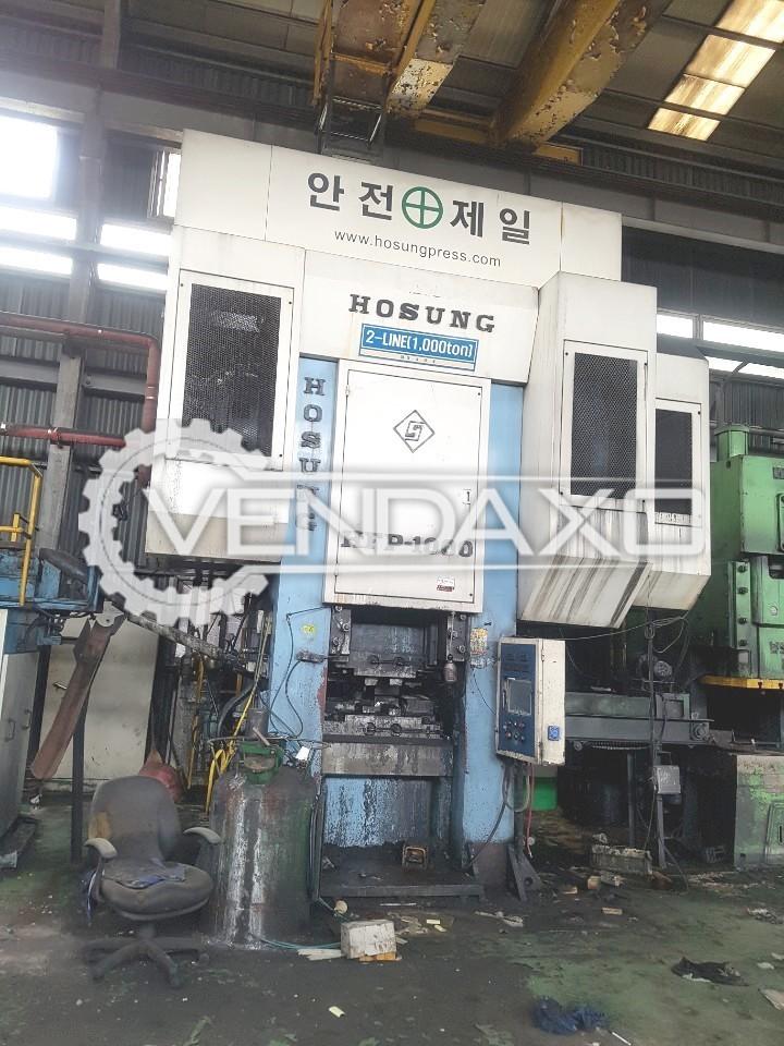 Hosung Korea HFP1000 Hot Forging Line - Capacity : 1000 Ton