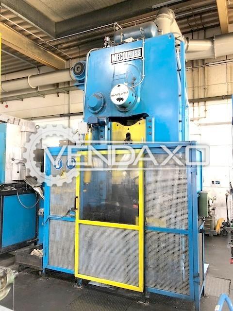 Mecolpress SEO/4F Brass Forging Press - Capacity : 400 Ton
