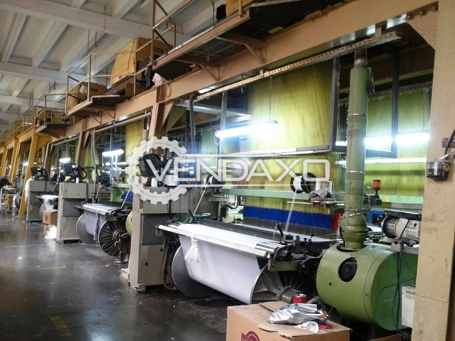 7 Set OF Somet Super Excel Jacquard Weaving Machine - Width - 1.90 Meter