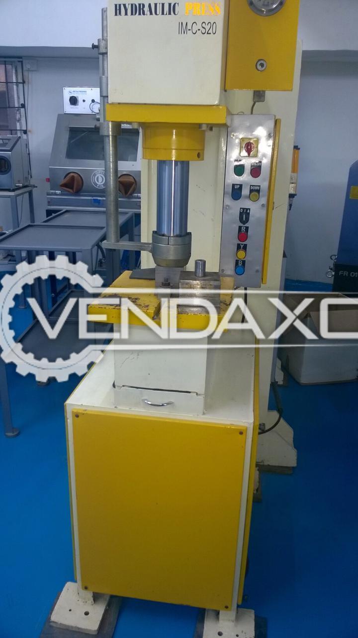 Delmer IM-CS20 Hydraulic Press Machine - 20 Ton