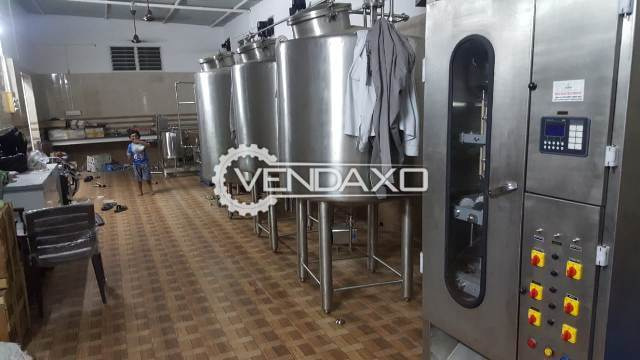 Available For Sale Dairy Milk Machinery Plant