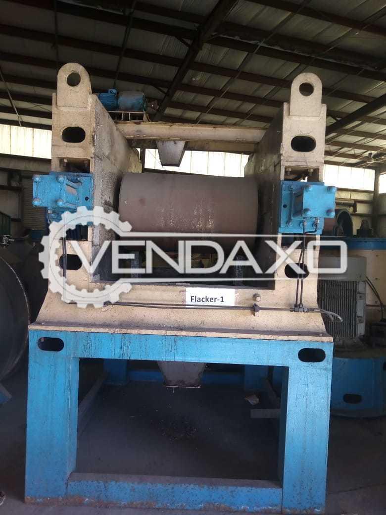 2 Set OF Shri Laxminarayan Industrial Flaker Machine - Motor - 180 HP