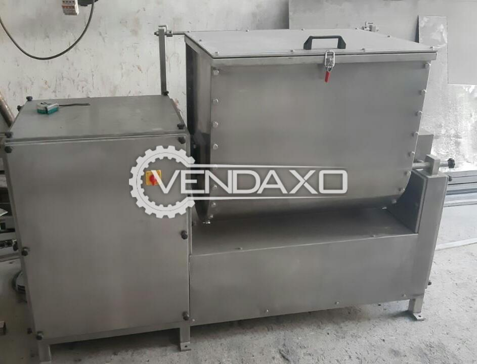 Indian Make Mass Mixer - Capacity : 100 Kg
