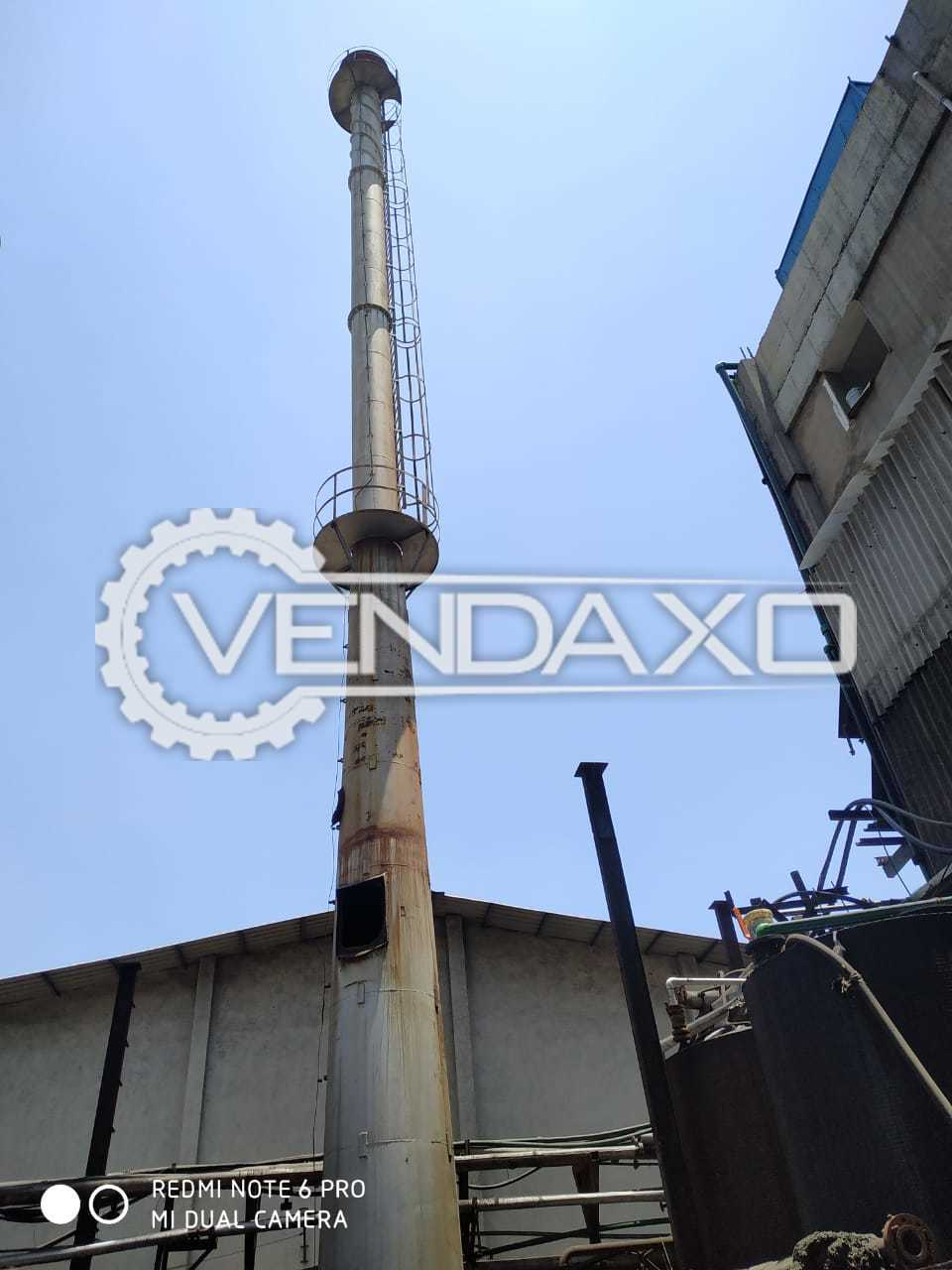 Available For Sale Used Chimney - 9500 KG