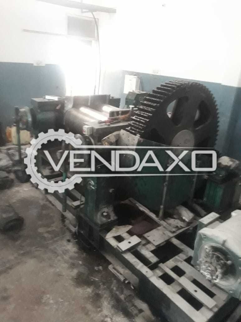 For Sale Used Rubber Mixing Mill - Motor - 40 HP