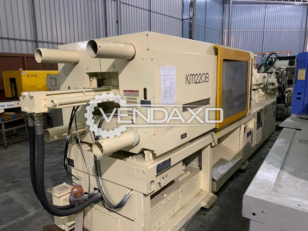 Kawaguchi KM-220B Injection Moulding Machine - 220 Ton