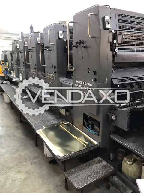 Heidelberg Offset Printing Machine - 28 x 40 Inch, 5 Color