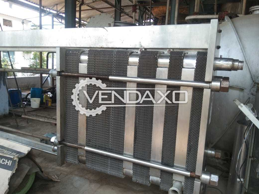 For Sale Used Milk Pasteurizer - 10 KL