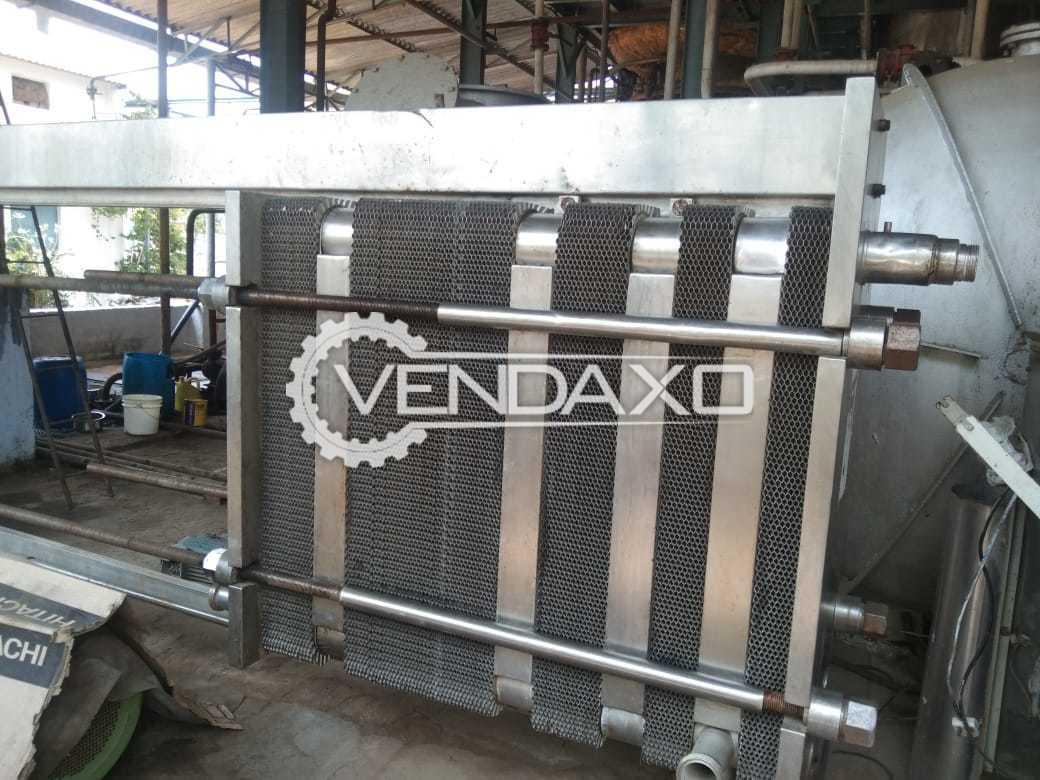 For Sale Used Milk Pasteurizer - 10 KL