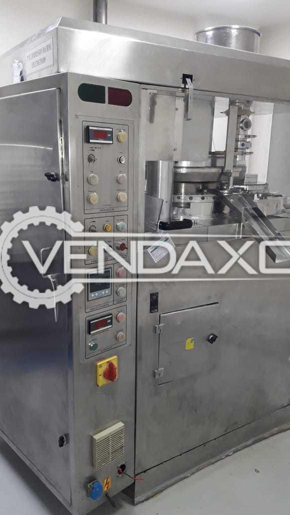 Fluid Pack Make 37 D Tooling Single Hopper Machine - 37 Station
