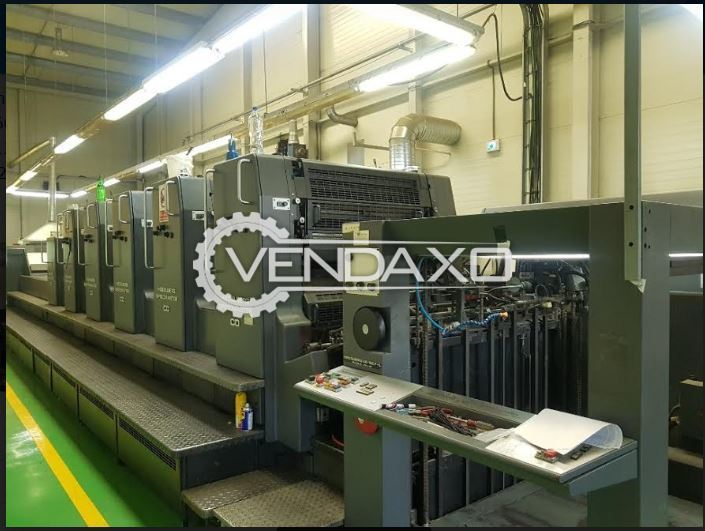 Heidelberg CD 102-F+LX Offset Printing Machine - 28 x 40 Inch, 5 Color