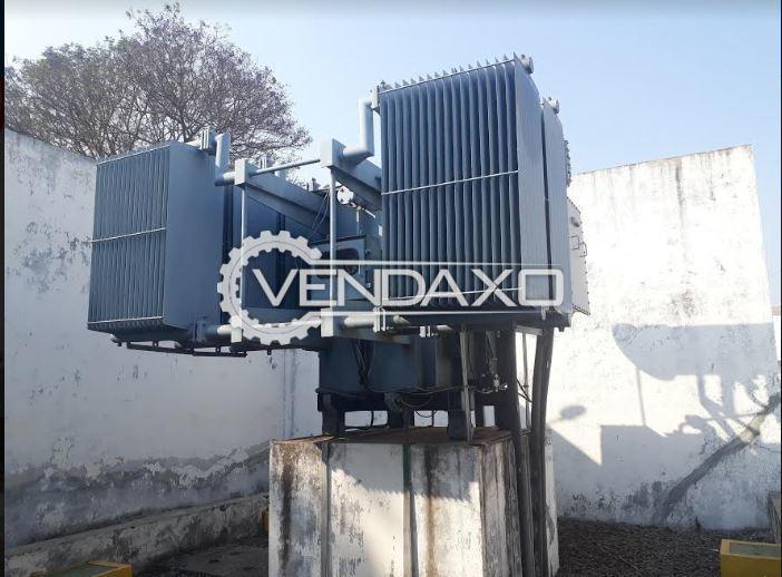 Areva Make Transformer - 5000 Kva With ABB Make Motor