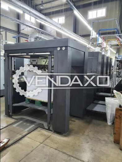 Heidelberg CD 102-4 Offset Printing Machine - 28 x 40 Inch, 4 Color