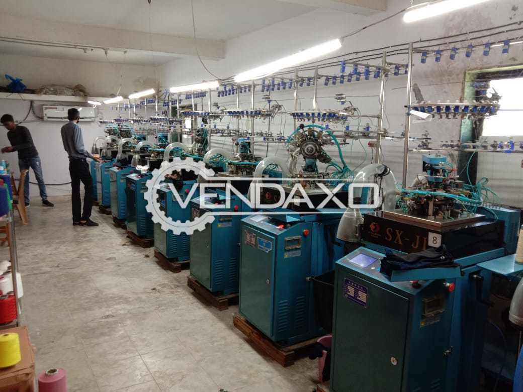 VN Make SX-JL Socks Knitting Machine - Length - 4.5 Feet