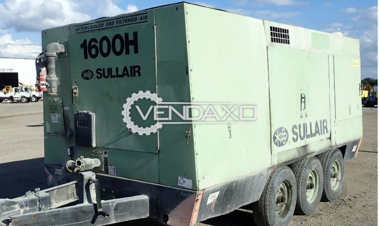 Sullair 1600HDTQ-DDA Air Compressor - 1600 CFM