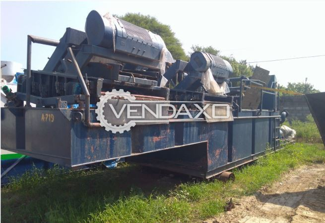 For Sale Used HDD Mud Recycling Machine - 2 x shale shakers