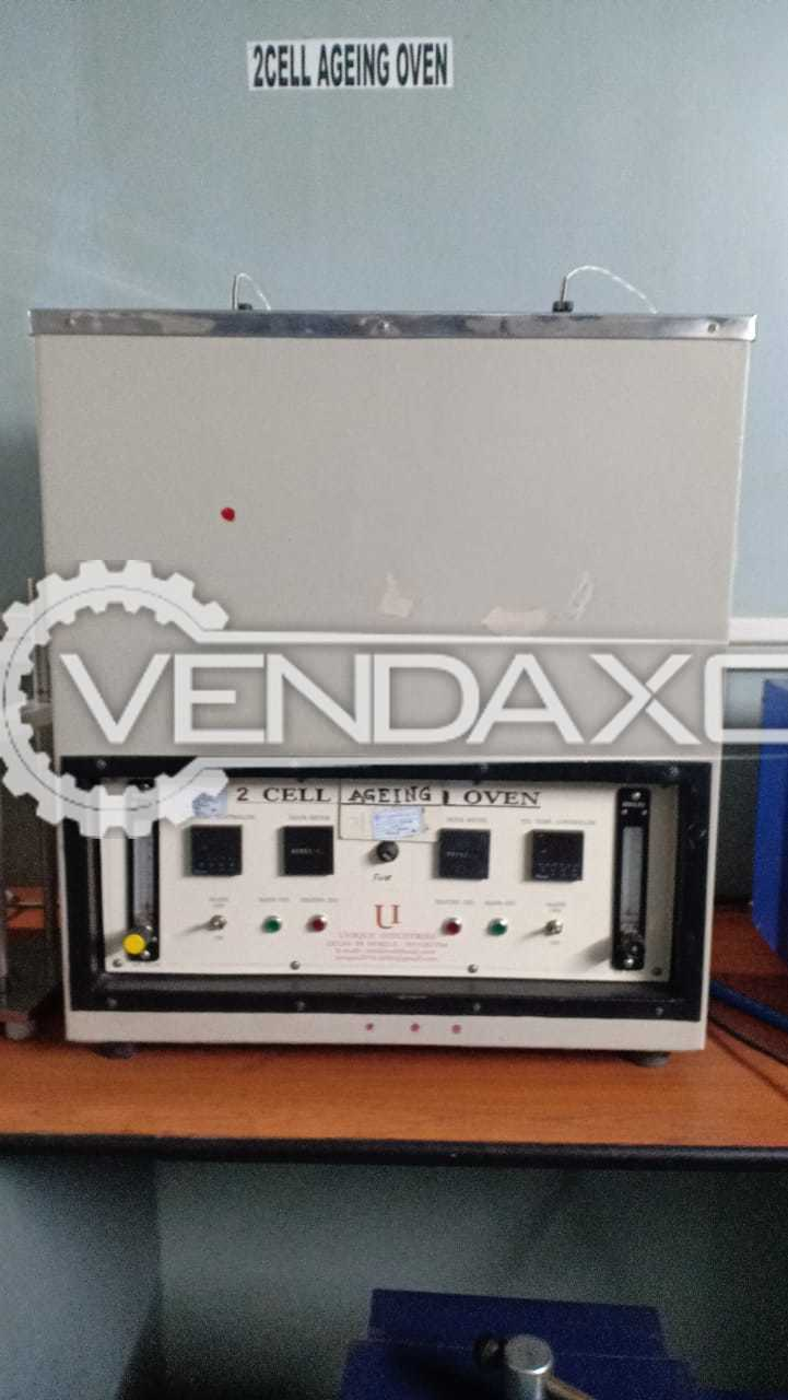 Dart Make Ageing Oven, Hydraulic Press & AC High Voltage Tester Machine - 2014 Model
