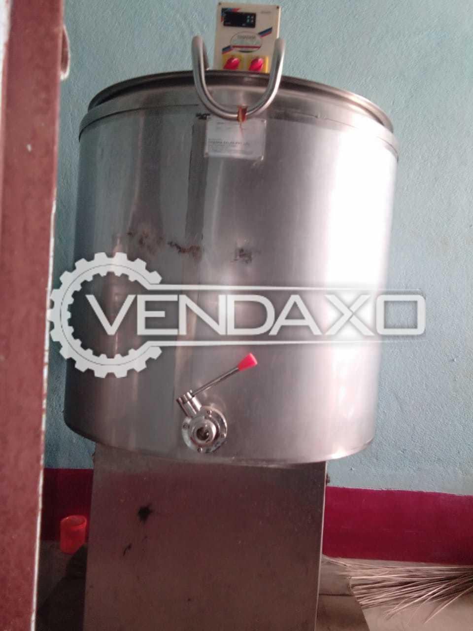 Chadha Make Bulk Milk Cooler - 100 Liter