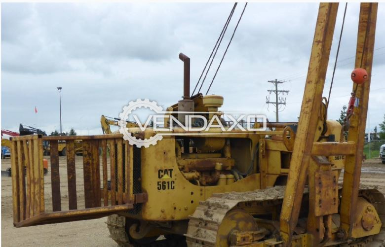 For Sale Used CAT 561C Midwestern Pipe layers