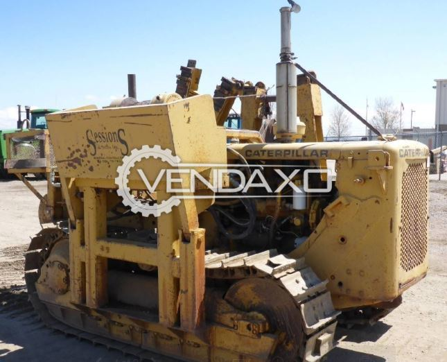 For Sale Used Caterpillar D4D Pipe layers