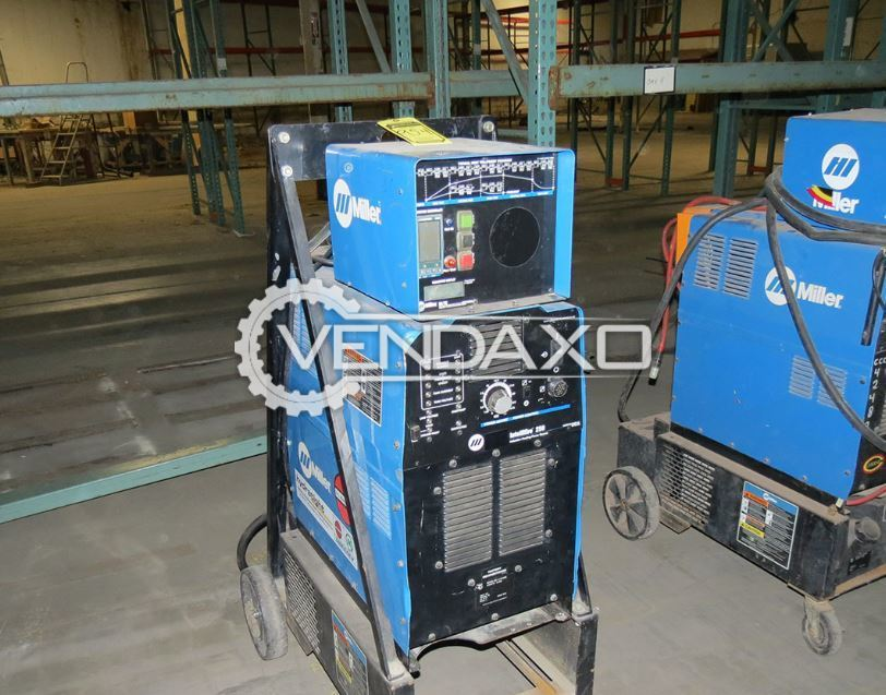 For Sale Used Miller Intellifire 250 Pipeline Induction heater Welding Machine